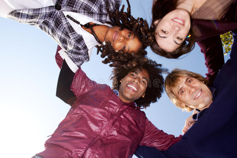 Download Group Hug stock photo. Image of multicultural, healthy - 12114734