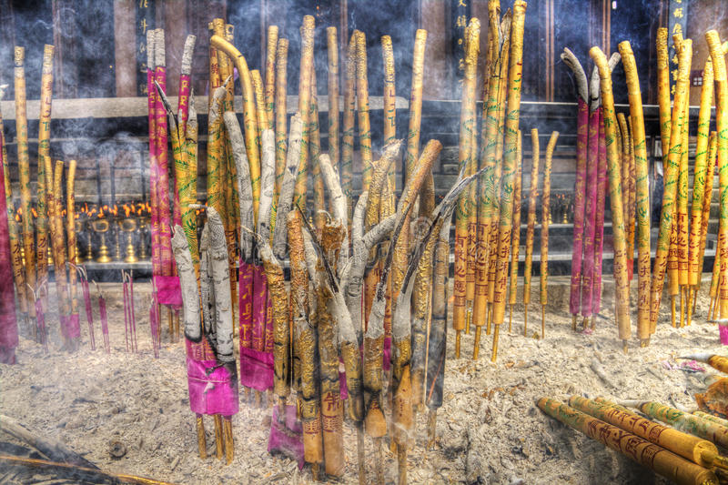 Download A Group Of Incense Sticks Stock Image - Image: 21880591