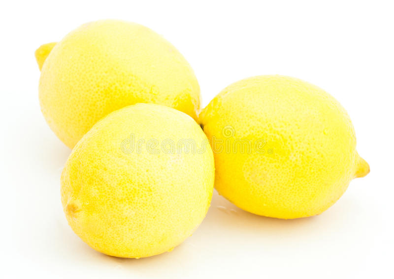 Group Of Juicy Lemons Royalty Free Stock Photography