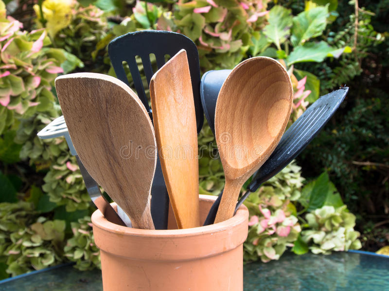 Group Of Kitchenware Stock Photography