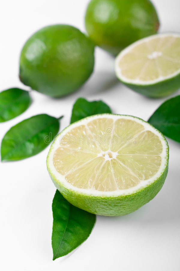Group Of Limes Stock Images