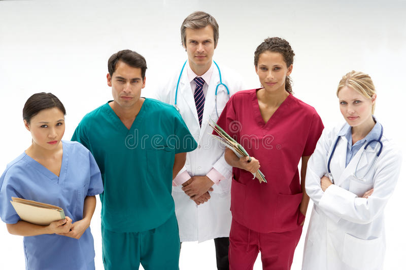 Download Group Of Medical Professionals Stock Image - Image: 21282259