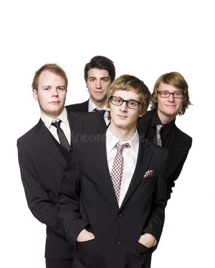 Group of men royalty free stock photos