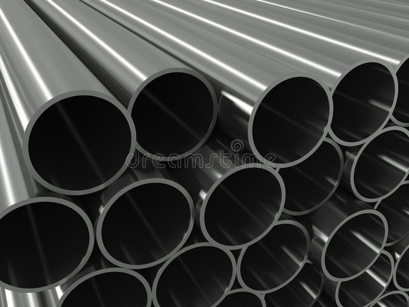 Download Group metal pipe stock illustration. Illustration of engineering - 20740839