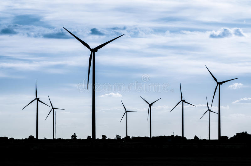 Download Group Of Mills For Electric Power Stock Photo - Image: 26798672