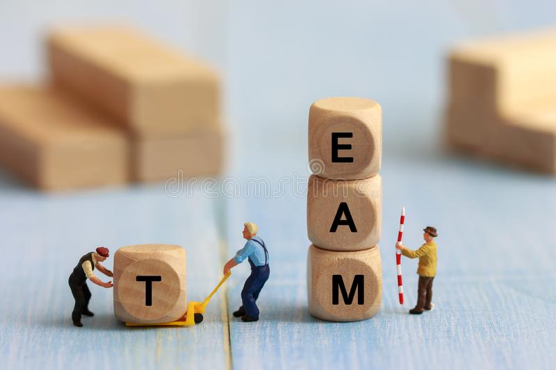 Business teamwork concept stock image