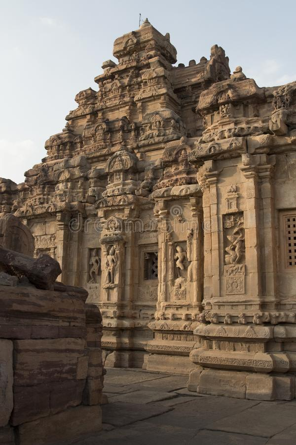 Hampi Monuments in south india stock images