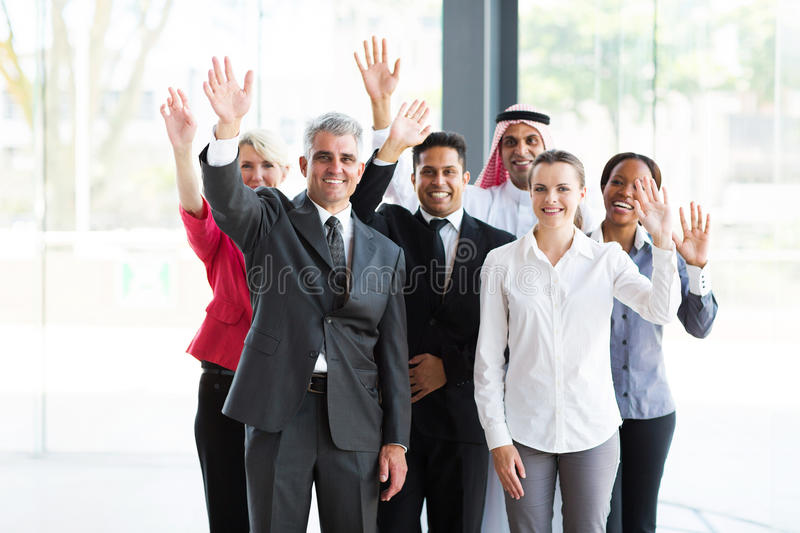 Group multicultural businesspeople royalty free stock photo