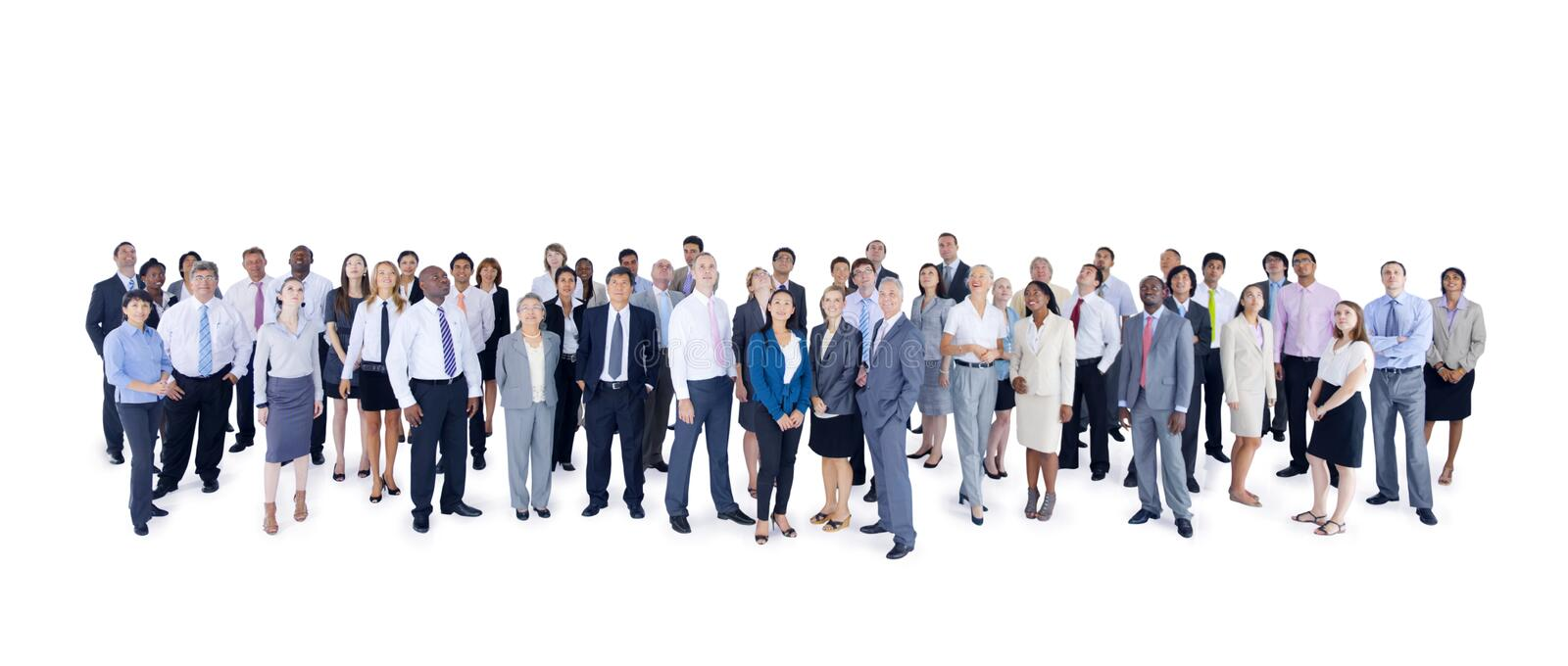 Group of Multiethnic World Business People.  royalty free stock photos