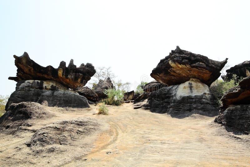 Download Group Of Mushroom Stone At Muk-da-han Park Stock Photo - Image: 21515020