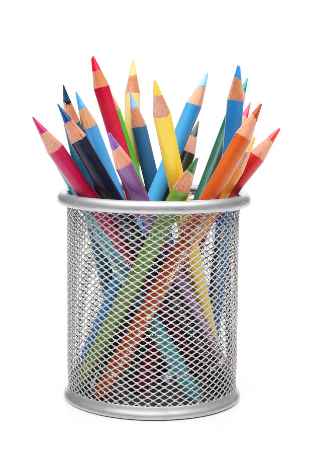 Free Group Of Color Pencils Royalty Free Stock Images - 24310799