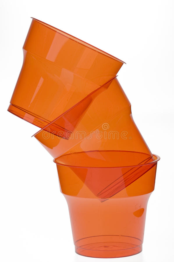 Free Group Of Colourful Plastic Glasses Royalty Free Stock Photo - 12180215
