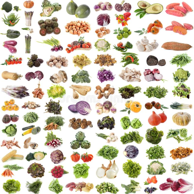 Free Group Of Vegetables Royalty Free Stock Photo - 112585075