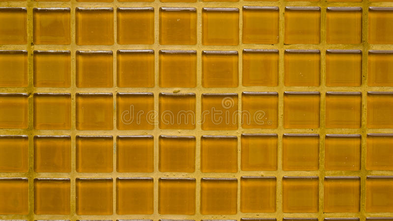 Group of orange tiles texture background.  stock photography