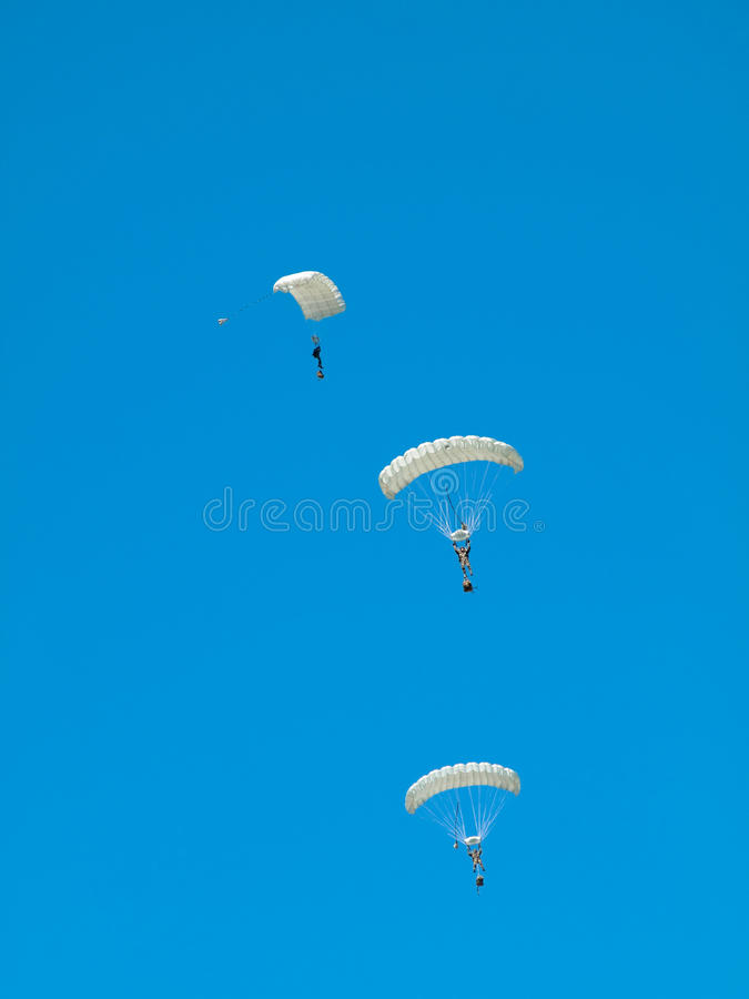 Download Group Of Parachutists Stock Photos - Image: 9842323