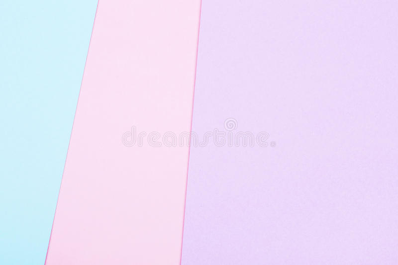 Group of pastel colorful macarons on trendy background stock photography