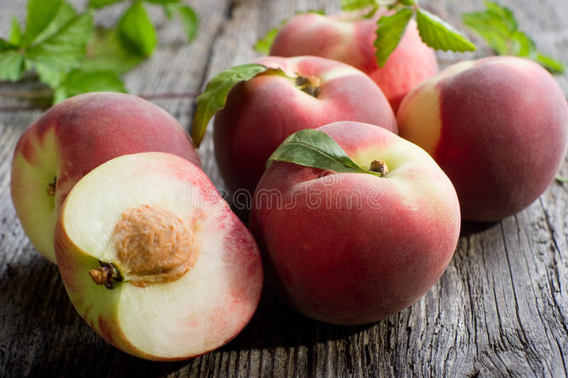 Group of peach royalty free stock image