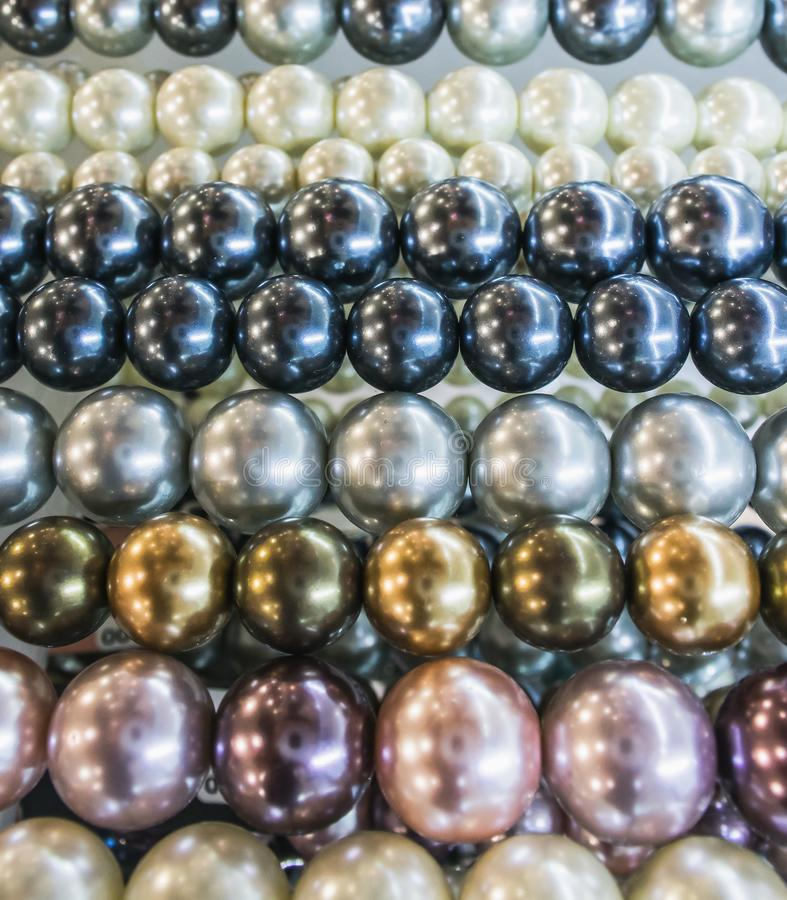 Group of pearls pattern. Backgrounds, Backgrounds stock photos