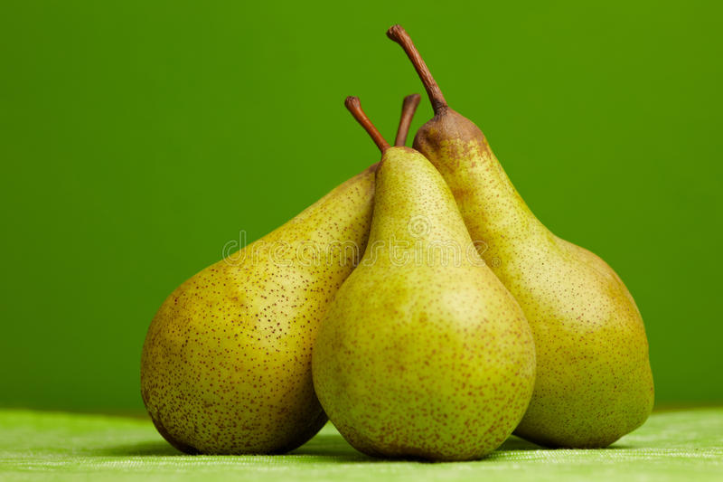 Group Of Pears Royalty Free Stock Photos