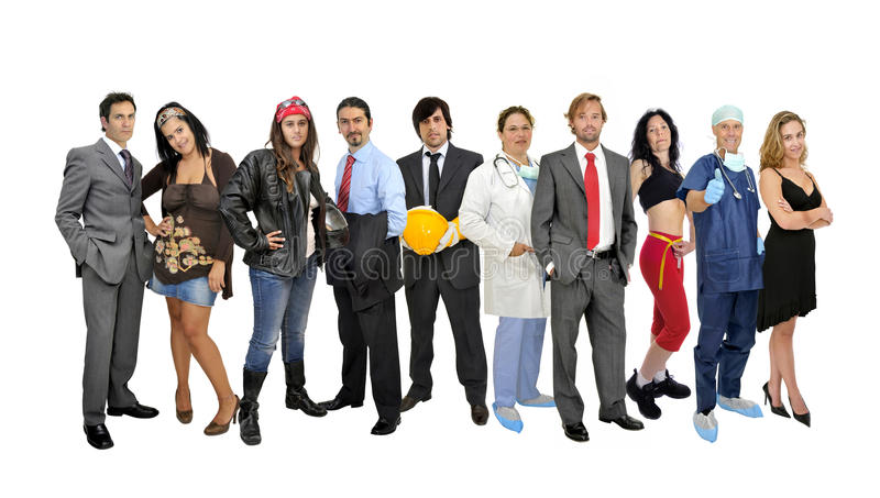 Download Group of people stock photo. Image of studio, professional - 16631472