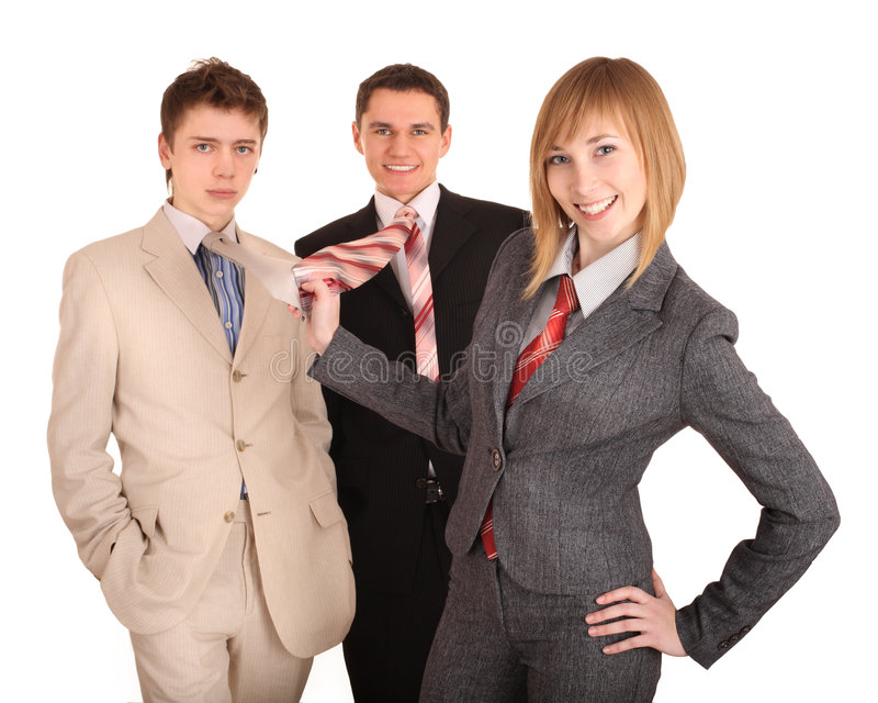 Download Group Of People In Business Suit. Feminism. Stock Images - Image: 8299774