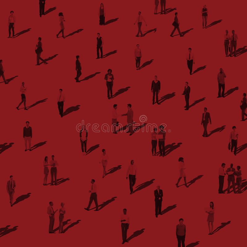 Group of People Communication Diversity Community Concept vector illustration