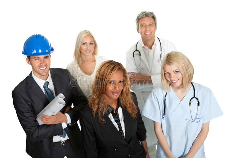 Download Group Of People In Different Professions Stock Image - Image: 26648297