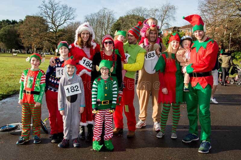 Group Of People Dressed As Elves Free Public Domain Cc0 Image