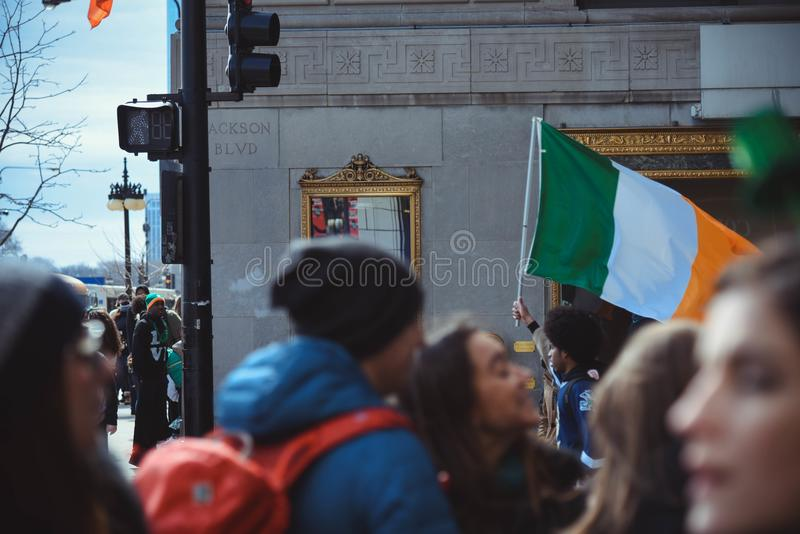 Group of People Gathering on Road Near Building royalty free stock photography