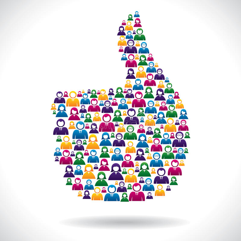 Download Group Of People Make Like Symbol Stock Vector - Image: 28229786