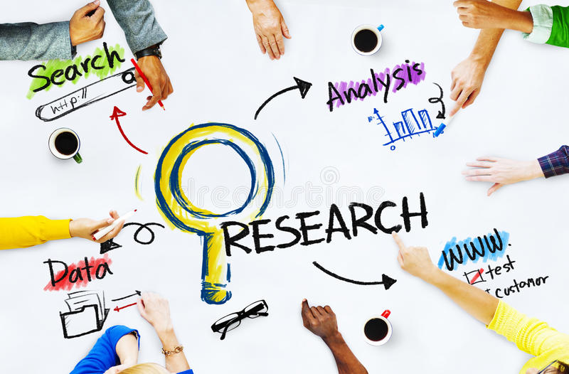 Download Group Of People With Research Concept Stock Image - Image: 41200907