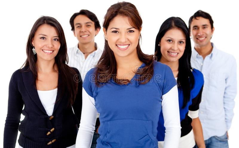 Download Group of people smiling stock image. Image of smiling - 24524857