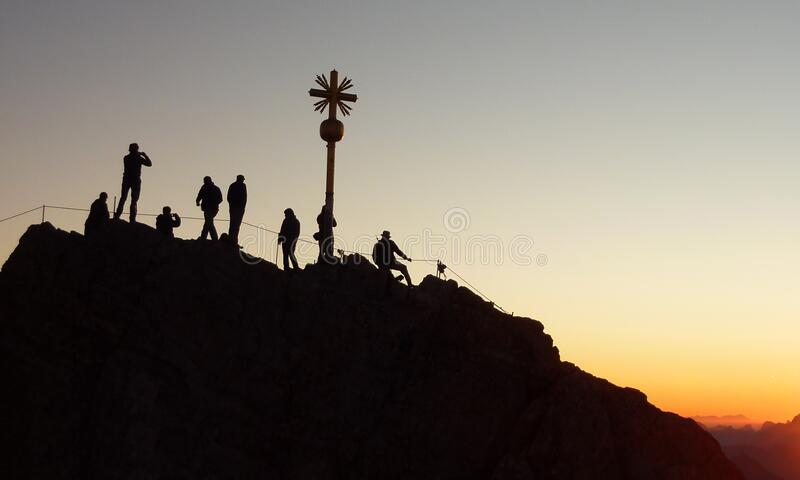 Group Of People During Sunset Free Public Domain Cc0 Image