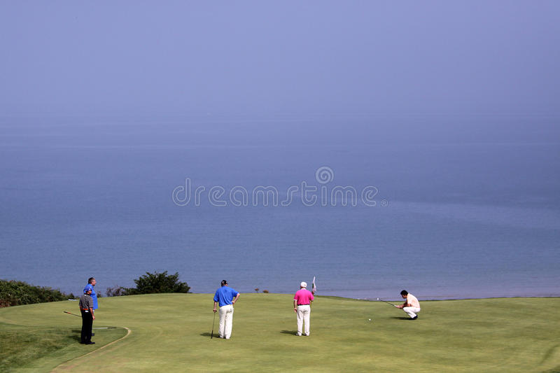 Download Group Of Players At The Pleneuf Val Andre Golf Challenge 2013 Editorial Stock Image - Image: 33455514