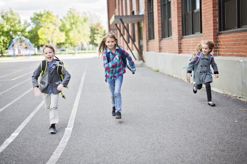 Download Group Of Primary Pupils Outside Classroom Stock Image - Image of school, student: 99106607
