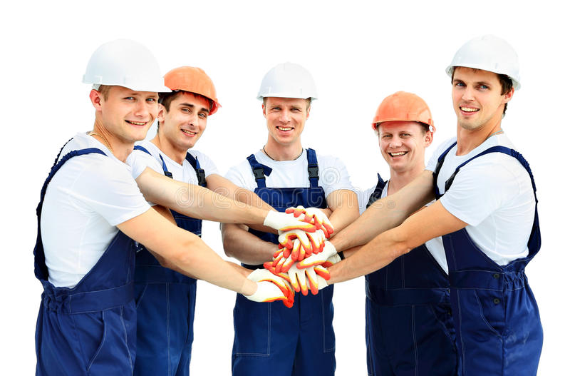 Group of professional industrial royalty free stock images
