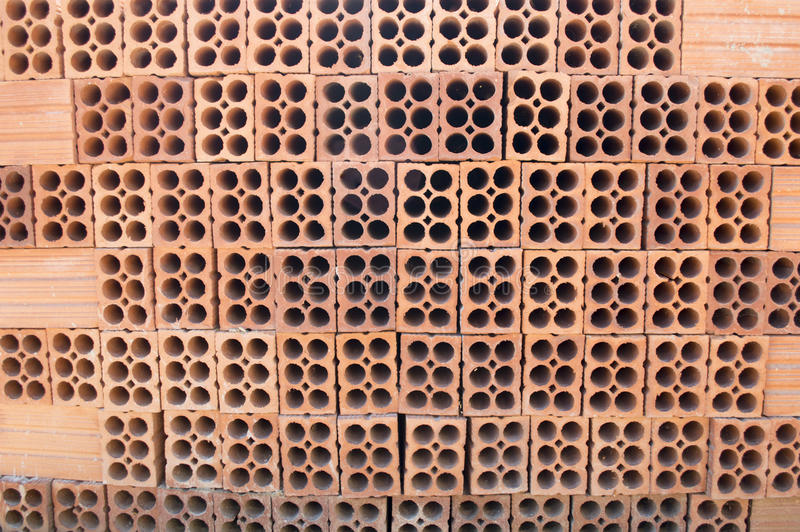 Download Group of red bricks stock image. Image of background - 30424989