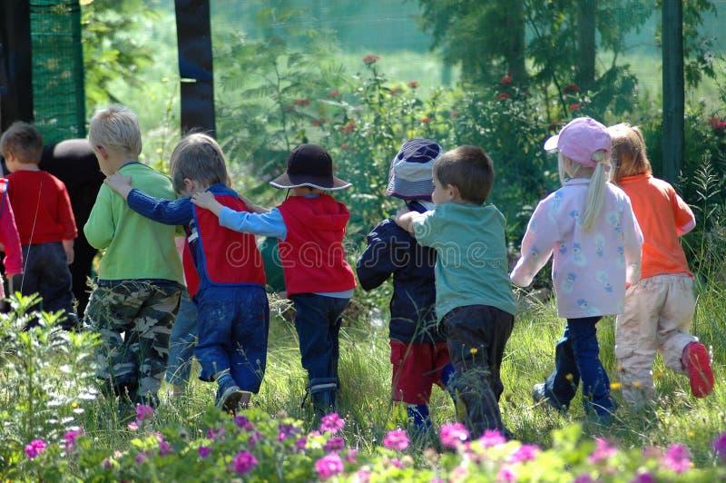 Group of school kids stock photos