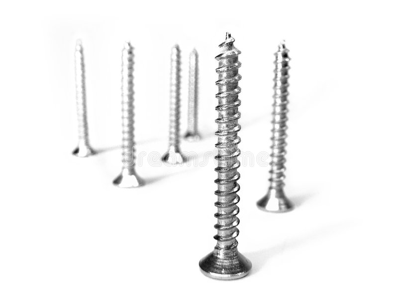 Download Group of screws stock image. Image of construct, hammer - 225705