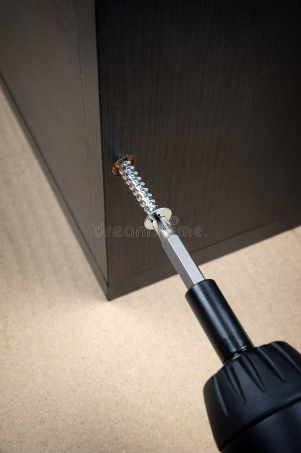 Group of screws stock photos