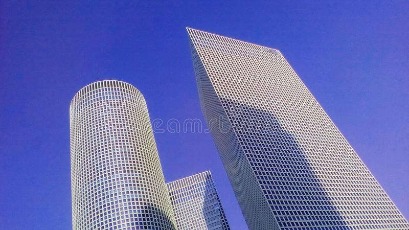 Contemporany architecture royalty free stock photography