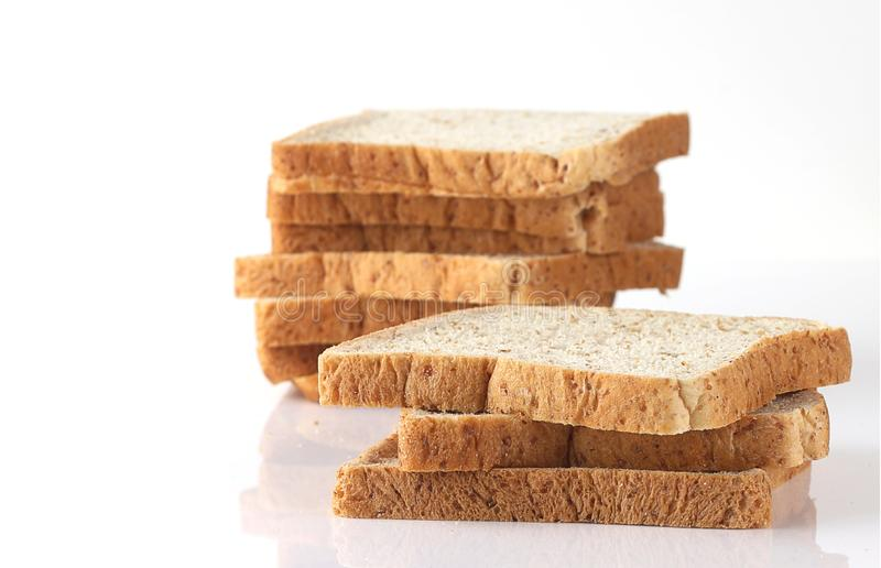 Group of sliced bread royalty free stock photo