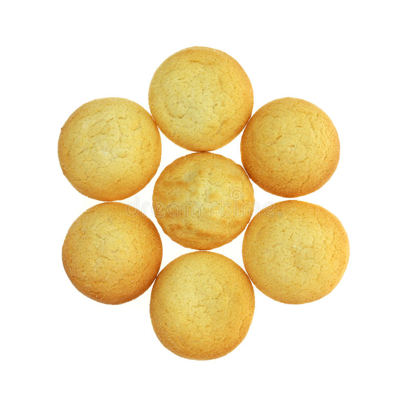 Download Group Small Lemon Cookies stock photo. Image of mild - 24823814