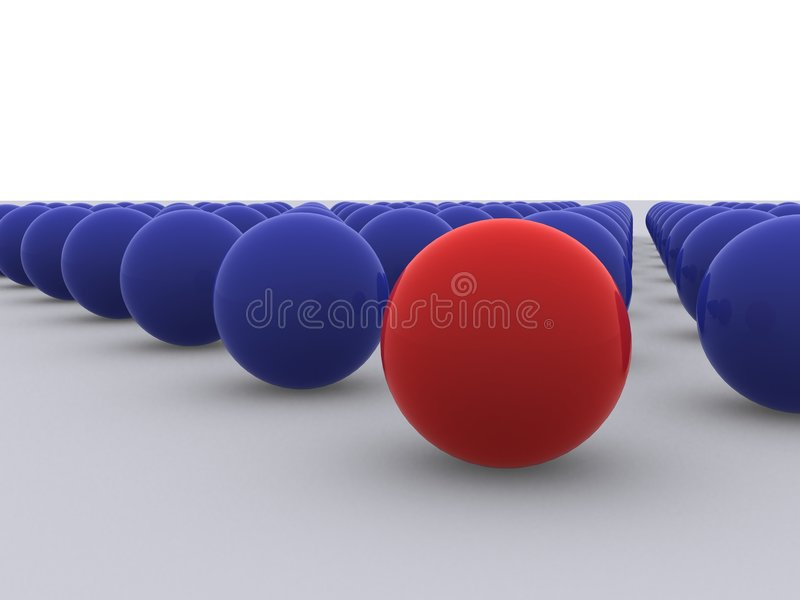 Group of spheres royalty free stock images