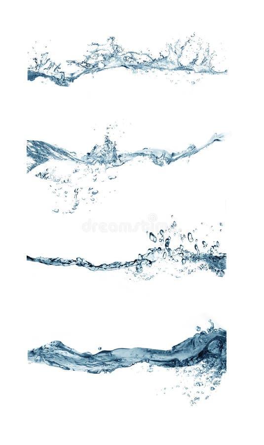 Download Group of splashing water stock image. Image of drink - 25956735