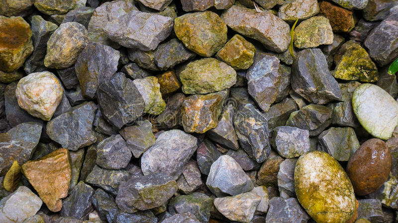 Group of stone or rock texture background. royalty free stock photography