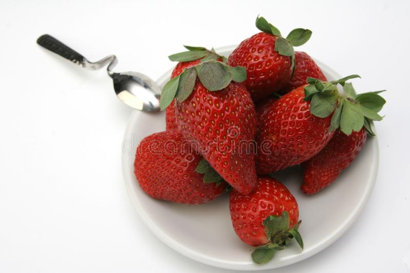 Group of Strawberry royalty free stock photography