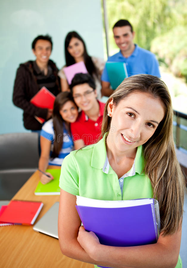 Download Group of students stock image. Image of women, lifestyle - 18519903