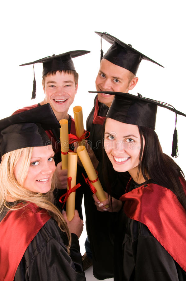 Download Group of students stock photo. Image of congratulations - 9910398
