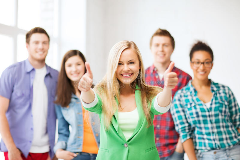 Download Group Of Students At School Stock Image - Image: 32887897